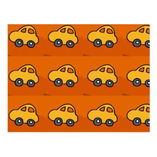 Carte Postale AMOUR d'enfants : Mini mini voitures de jouet