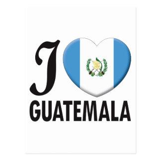 Carte Postale Amour du Guatemala