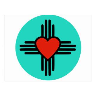 Carte Postale Amour du Nouveau Mexique