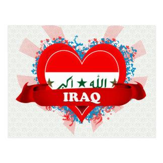Carte Postale Amour Irak du cru I