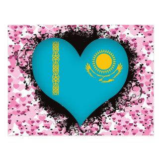 Carte Postale Amour Kazakhstan du cru I