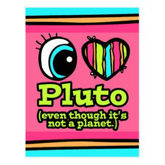 Carte Postale Amour lumineux Pluton du coeur I d'oeil