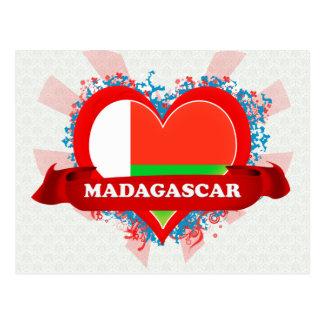 Carte Postale Amour Madagascar du cru I