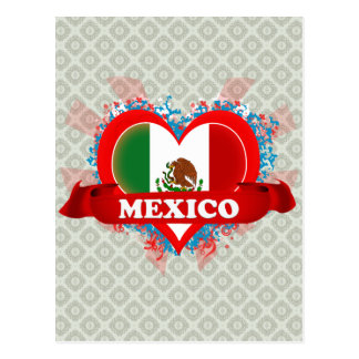 Carte Postale Amour Mexique du cru I