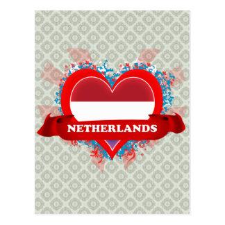 Carte Postale Amour Pays-Bas du cru I