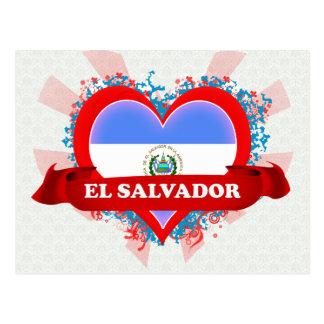 Carte Postale Amour Salvador du cru I