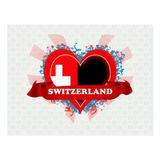 Carte Postale Amour Suisse du cru I