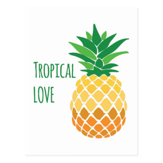 Carte Postale Amour tropical
