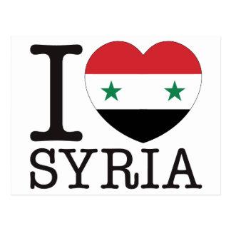 Carte Postale Amour v2 de la Syrie