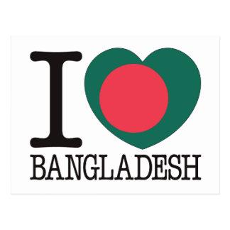 Carte Postale Amour v2 du Bangladesh