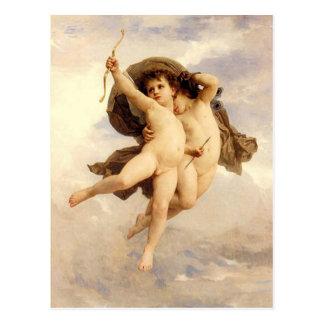 Carte Postale Amour victorieux par Bouguereau