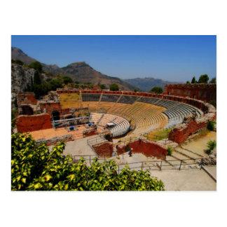 Carte Postale Amphithéâtre 1 de Taormina