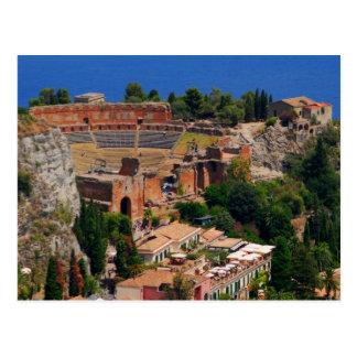 Carte Postale Amphithéâtre 3 de Taormina