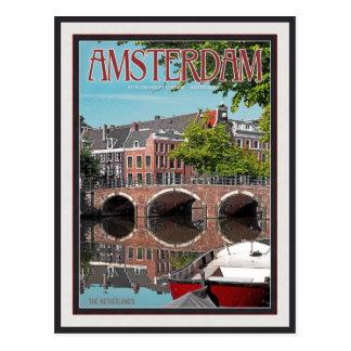 Carte Postale Amsterdam - Keizersgracht