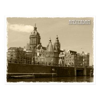 Carte Postale Amsterdam, Netherland