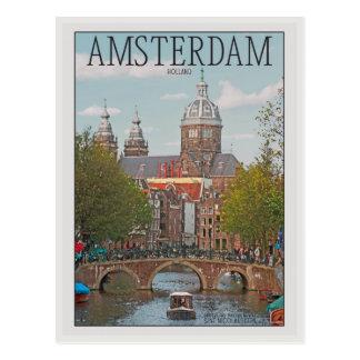Carte Postale Amsterdam - Sint Nicolaaskerk