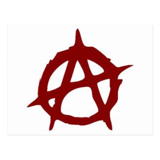 Carte Postale Anarchie - UNE : Copie