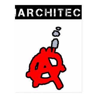 Carte Postale Anarchitecte - Jeux de Mots - Francois Ville