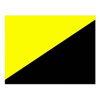 Carte Postale Ancap, drapeau politique de la Colombie