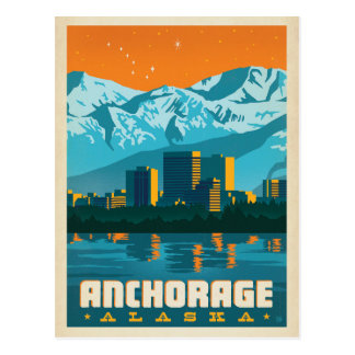 Carte Postale Anchorage, Alaska