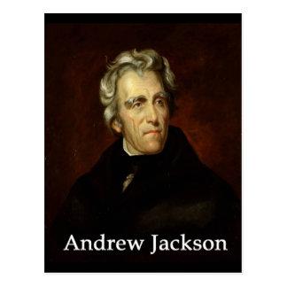 Carte Postale Andrew_Jackson par le public Sully avec l'antiqua