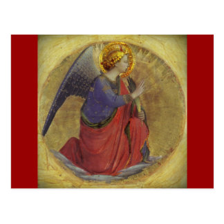 Carte Postale Ange d'ATF Angelico d'annonce