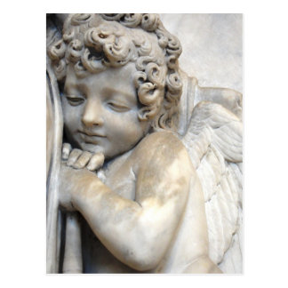 Carte Postale Ange de marbre à Venise