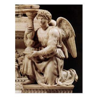Carte Postale Ange de Michaël Angelo avec le chandelier