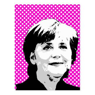 Carte Postale Angela Merkel