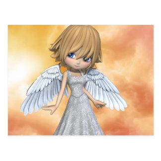 Carte Postale Anges 2 de Lil