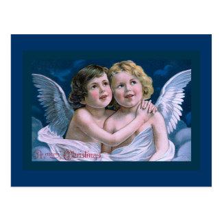 """Carte Postale """"Anges de Noël """""""