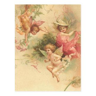 Carte Postale anges vintages