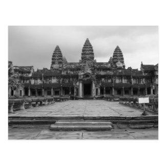 Carte Postale Angkor Vat B&W