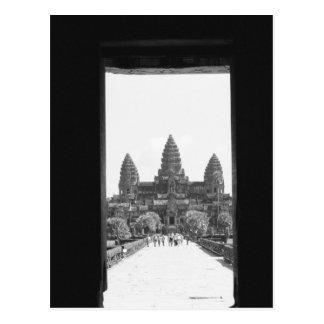 Carte Postale Angkor vue 2 de porte de Cambodge, Angkor Vat