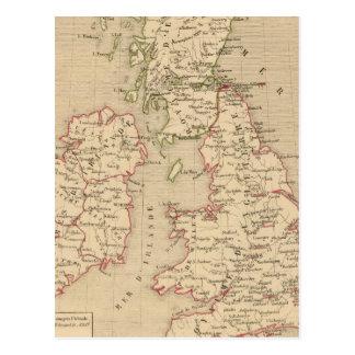 Carte Postale Angleterre, Irelande et Ecosse 1281 un 1400