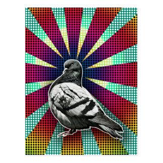 Carte Postale Angry Pigeon Postcard