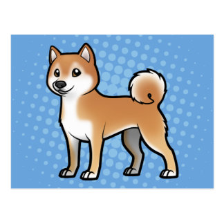 Carte Postale Animal familier personnalisable