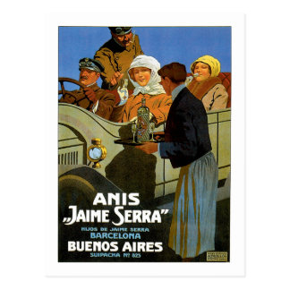 Carte Postale Anis Jaime Serra Buenos Aires