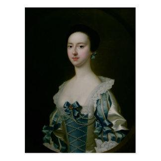 Carte Postale Anne Bateman, plus défunte Mme John Gisbourne,