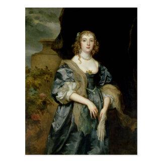 Carte Postale Anne Carr, comtesse de Bedford, c.1638