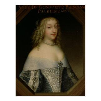 Carte Postale Anne de Gonzaga princesse Palatine