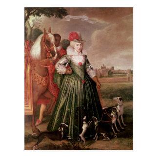 Carte Postale Anne du Danemark, 1617