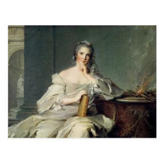 Carte Postale Anne-Henriette De France, comme élément de