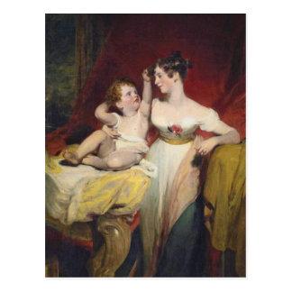 Carte Postale Anne, vicomtesse Pollington, comtesse