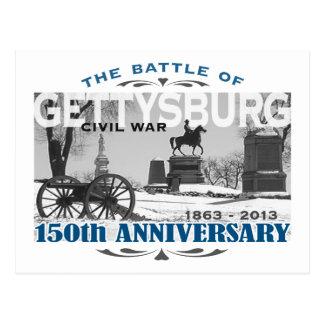 Carte Postale Anniversaire de la bataille 150 de Gettysburg