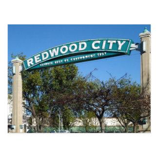 Carte Postale Anniversaire de Redwood City 150th
