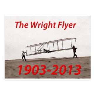 Carte Postale Anniversaire d'insecte de Wright (1903-2013)