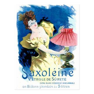 """Carte Postale """"Annonce française d'essence de Saxoleine"""