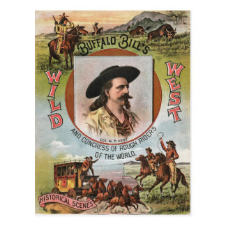Carte Postale Annonce vintage de l'exposition 1893 occidental