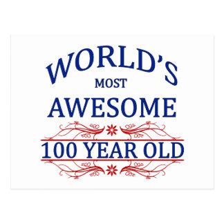 Carte Postale Ans les plus impressionnants du monde 100